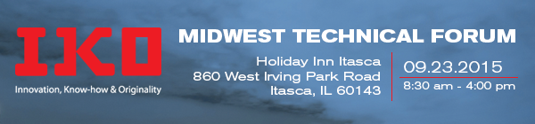 IKO Midwest Technical Forum